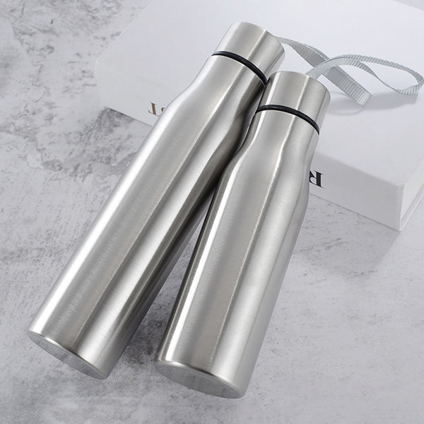 500 & 750ml Stainless Steel Water Bottle Combo Set - Yoga Chance