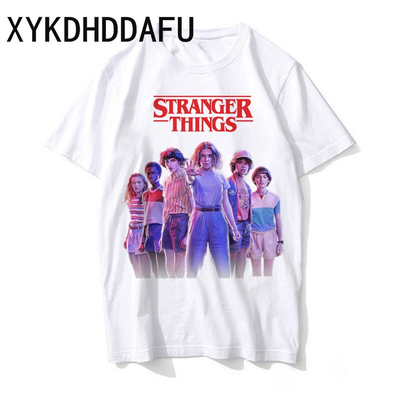 Stranger Things Season 3 T Shirt Eleven Tee Men/women Harajuku Tshirt Oversized Male/female Hip Hop T-shirt