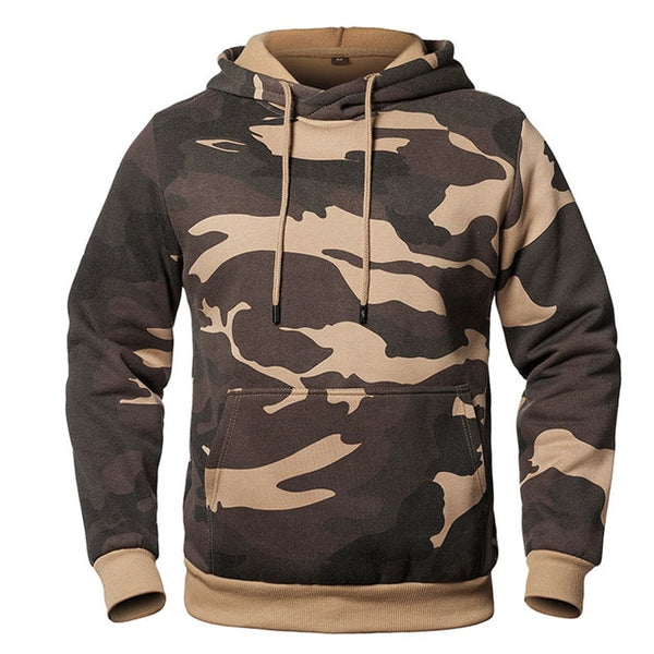Camouflage Hoodies Men Military Hooded Sweatshirt
