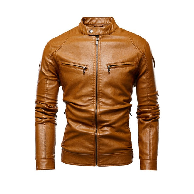 Autumn Jacket Men New Slim Retro Winter Jackets