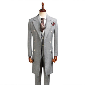 Men's Suits Long Blazer
