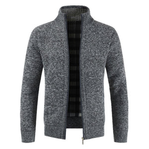 Winter New Men's Jacket Slim Fit Stand Collar