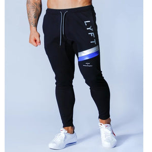 Sports pants men's jogger fitness sports trousers new fashion printed muscle men's
