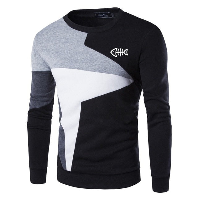 Spring Autumn New Man Sweatshirts Homme Streetwear Men Clothing Funny Print Male Tops Casual Pullovers
