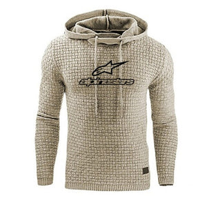 Casual Long Sleeve Hoodie Men Sweatshirt