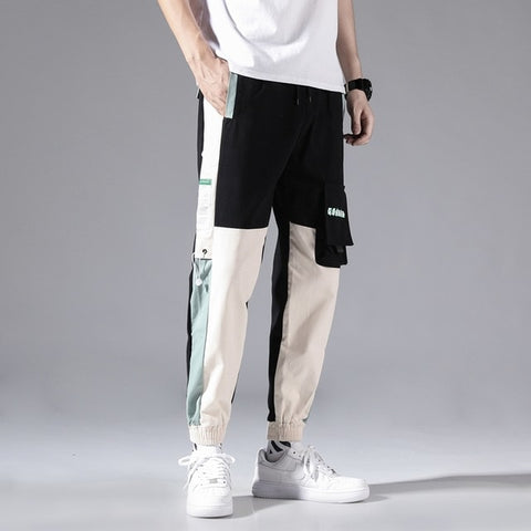 Streetwear Men's Multi Pockets Cargo Harem Pants