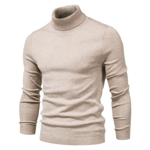 New Winter Turtleneck Thick Mens Sweaters