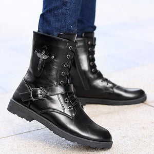 Autumn Punk Ankle Boots