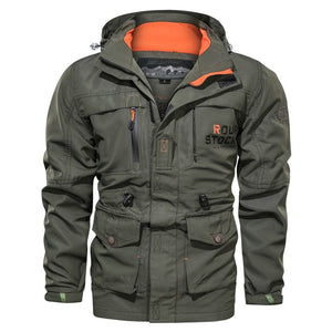 Spring Autumn Multi-pocket Military tactical Jackets