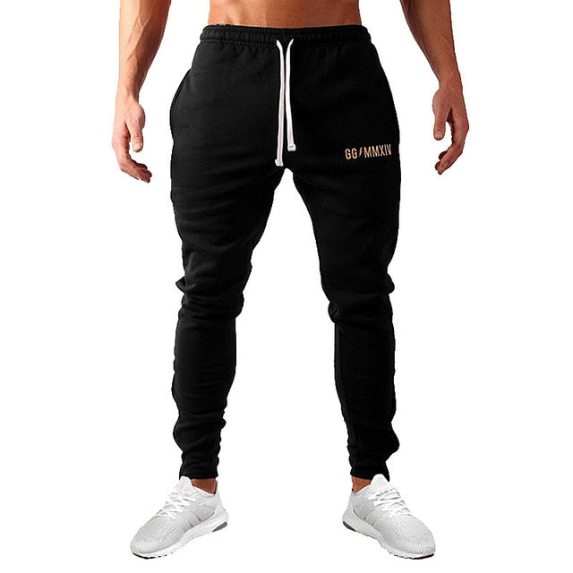 Spring and Autumn men's fashion street fitness pants