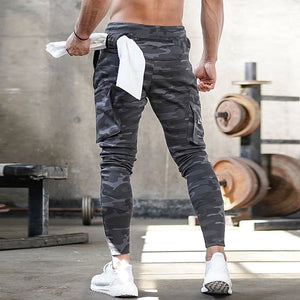 Men's fashion camouflage sports