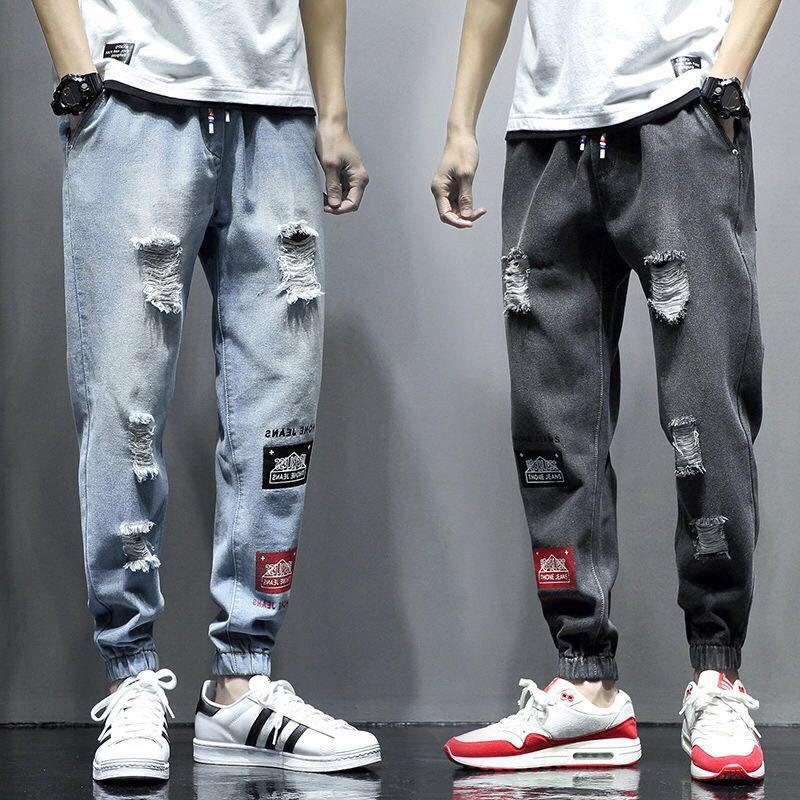 Men's Fashion Ripped Jeans