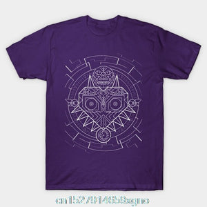 Printed MAJORAS MASK TERMINA T-SHIRT Men T Shirt Cotton tshirt O-Neck Short-Sleeve Women T-Shirt