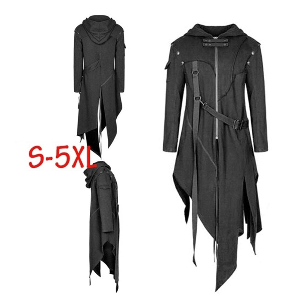 Men's Trench Men's Gothic Coat