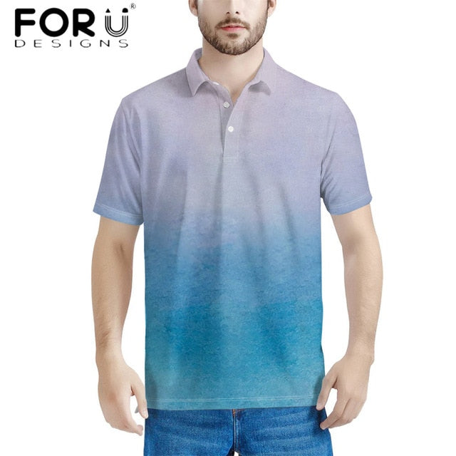 Men's Polos Tshirt Comfort Short Sleeves Turn-down