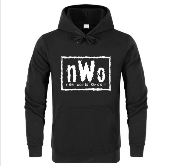 New World Ink Wolfpac Black Hoodies Men Brand Male Tops Clothing Camisetas Free Shipping