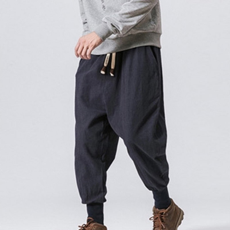 Casual Vintage Long Pants Pantalones
