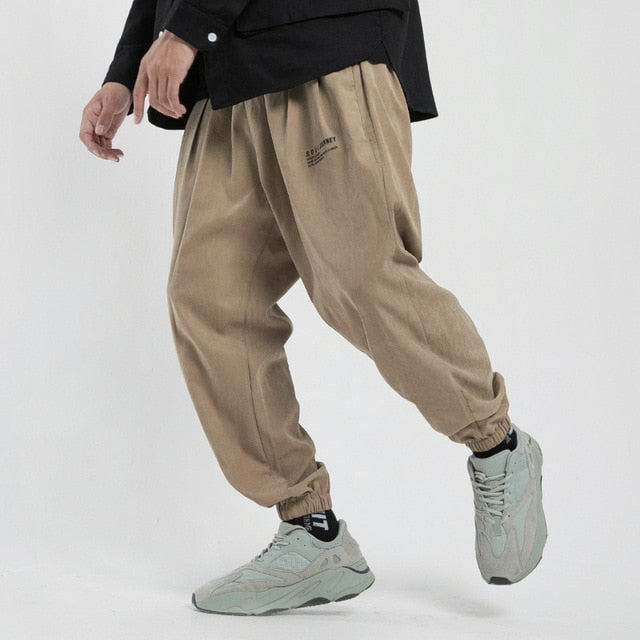 Autumn New Men's Trousers