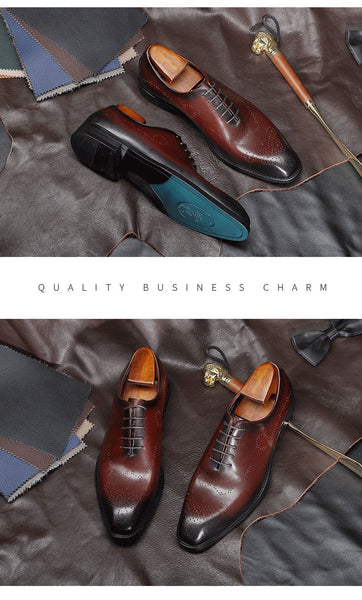 Genuine Leather Men Dress Shoes