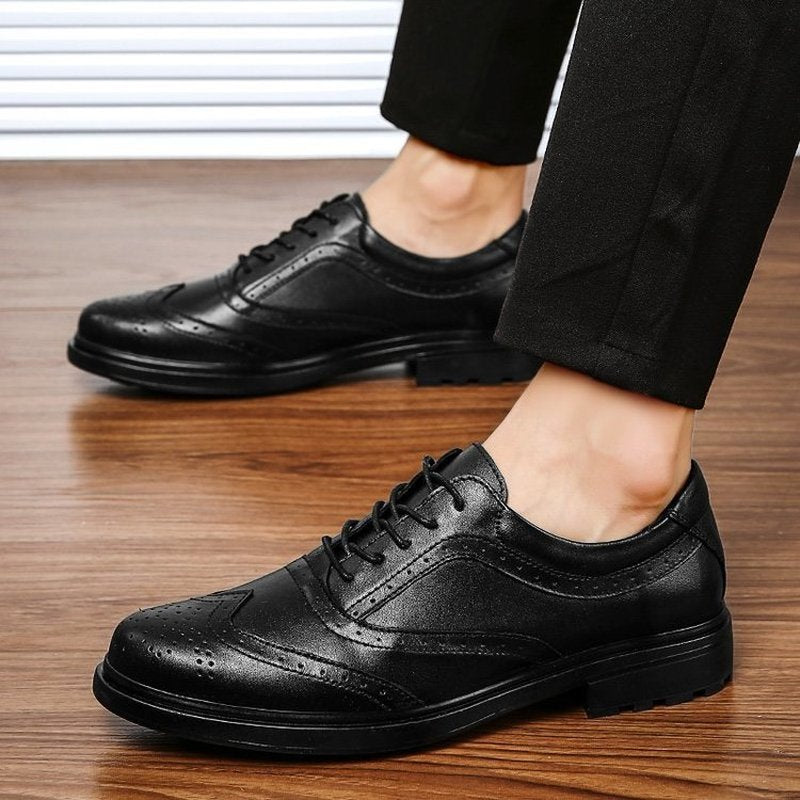 Men male dress man formal brogues shoes