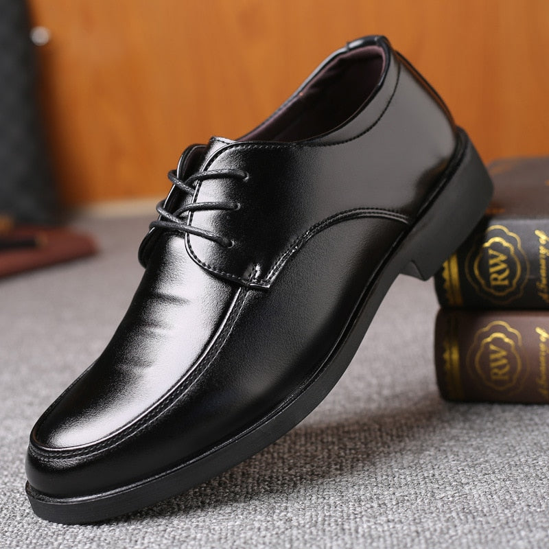 Brand Classic Man Pointed Toe Dress Shoes