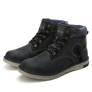 Fashion Winter Military Boots
