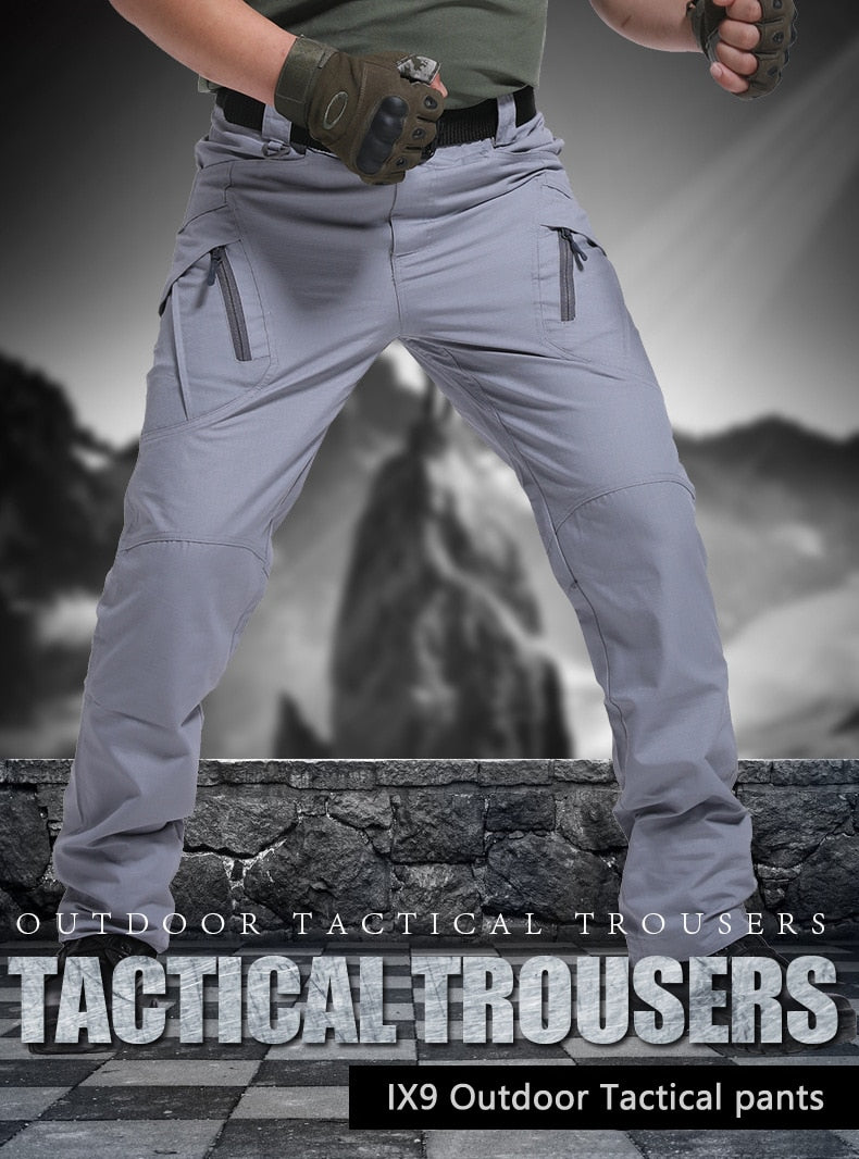 City Military Tactical Pants Men SWAT Combat Army Trousers