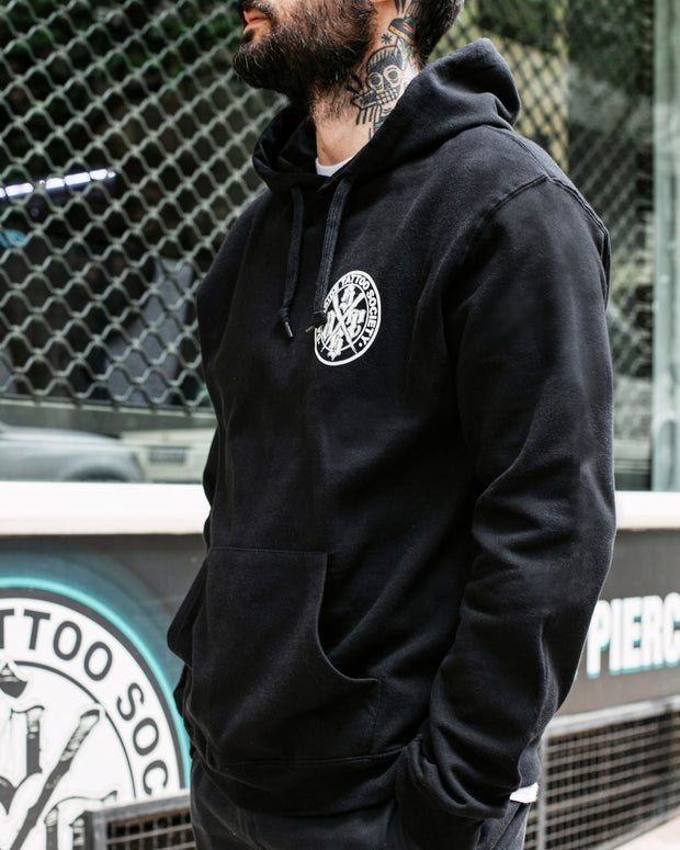 DSTS LOGO HOODIE/ WHITE