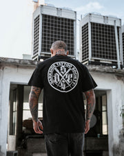 DSTS BLACK LOGO T-SHIRT