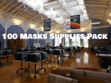 Supplies to 3D print 100 PPE Masks