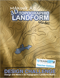 STEAMtrax Kit M - Making a 3D Topographic Landform Model Grade 8
