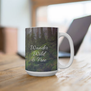 Open image in slideshow, Wander Wild & Free Mug