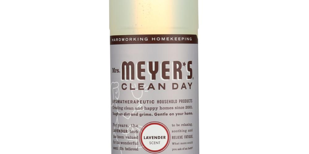 Mrs Meyers Clean Day: Liquid Dish Soap Lavender Scent, 16 Oz