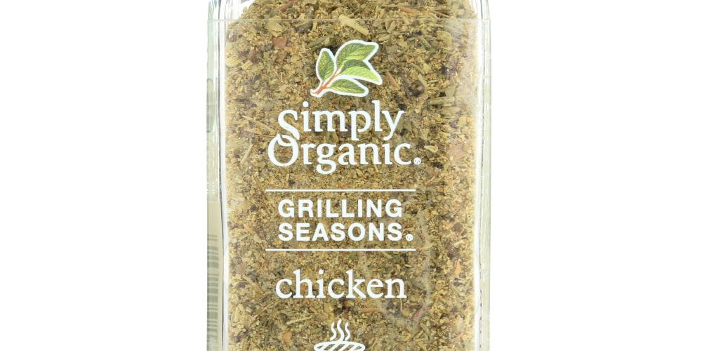 Simply Organic: Chicken Grilling Seasons, 1.1 Oz