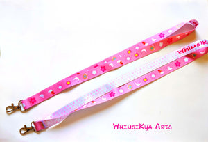 Cute Magical Girl Patterned Lanyards