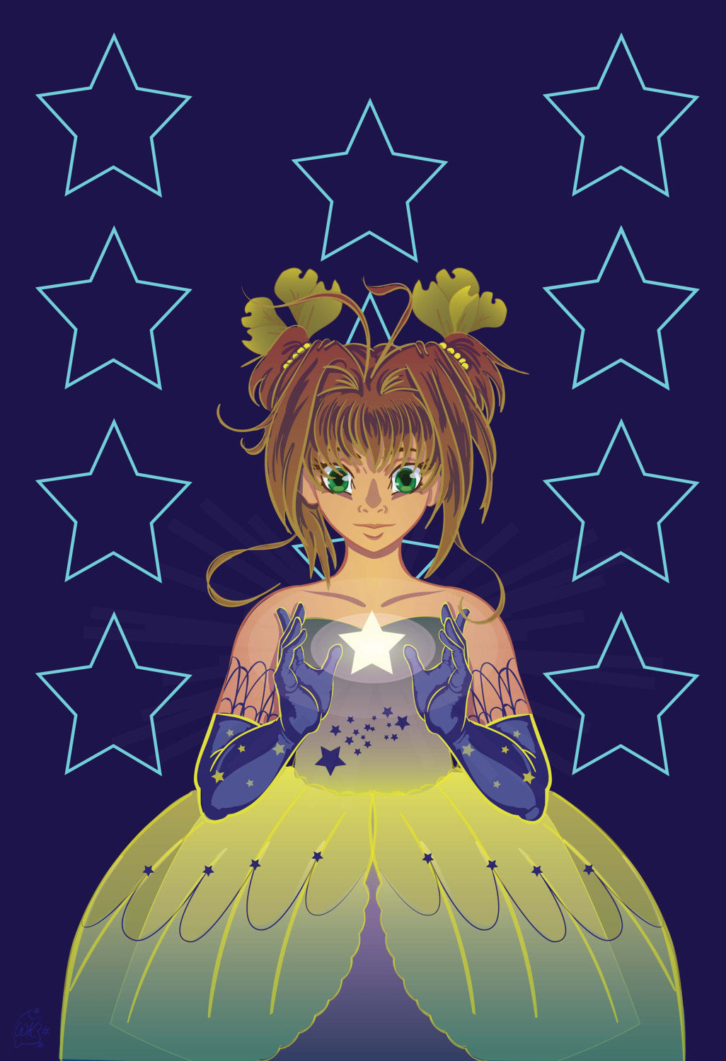 Starlight Magical Girl Poster