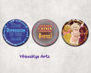 "2.25"" Round Pinback Buttons"