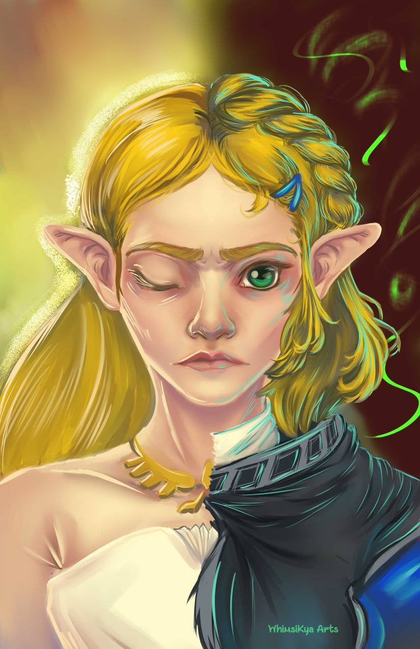 Breath of the Wild Zelda Print