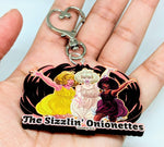 Load image into Gallery viewer, The Sizzlin Onionettes Keychain