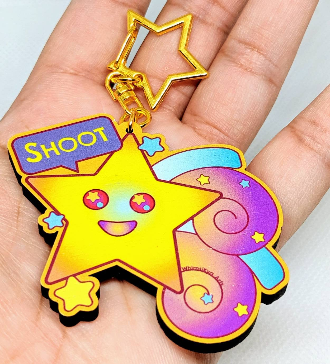 Astraya The Shooting Star Keychain