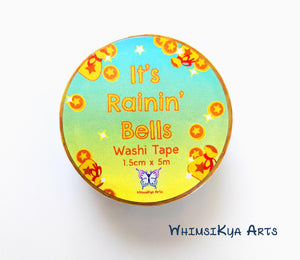 It's Rainin' Bells Washi