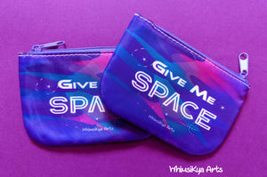 Give Me Space Coin Purses