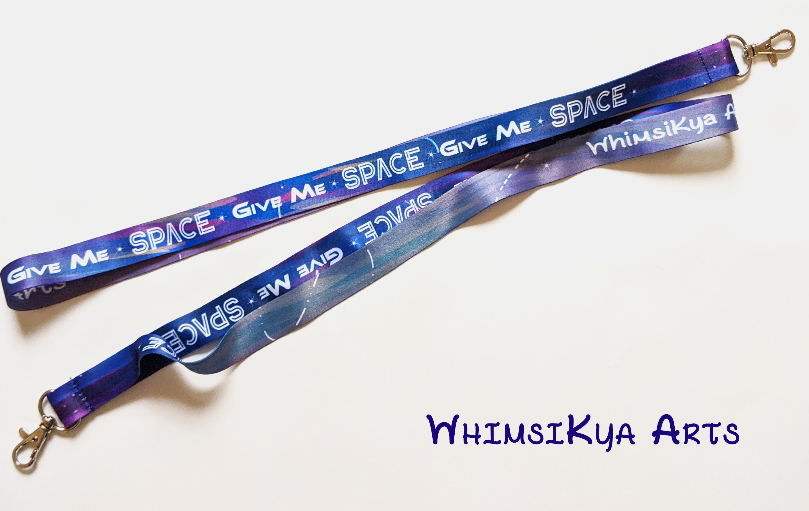 Give Me SPACE Patterned Lanyards