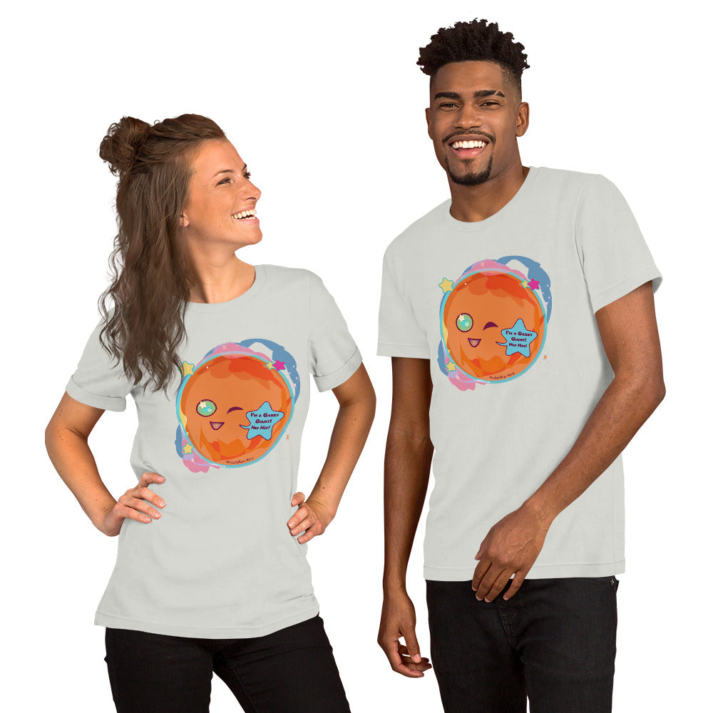 Gassy Giant Short-Sleeve Unisex T-Shirt