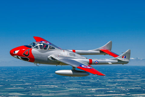 de Havilland Vampire Jet Flight