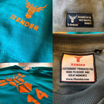 Diverese Brandlabel der 14ender Sweatkollektion