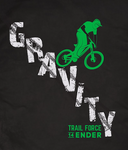 T-Shirt  14Ender® Gravity Design, black NEU!!