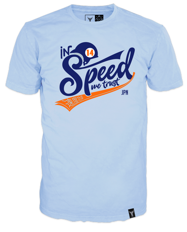 T-Shirt 14Ender® Speed light blue