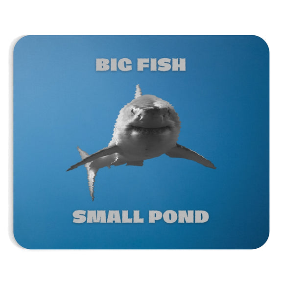Big fish small pond mousepads