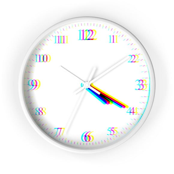 Glitched 4:20 wall clocks